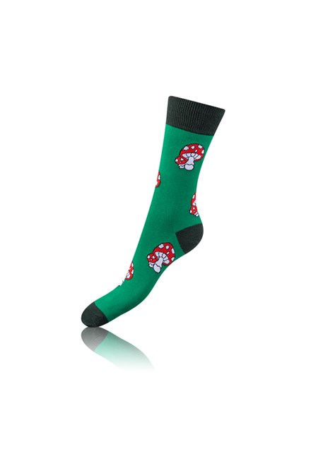 Ponožky Bellinda 4 ks, dárková sada červená Crazy Sock Box BE481044-005 NEW