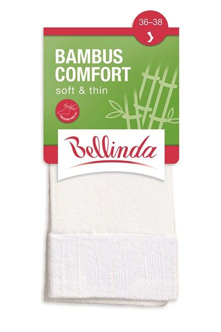 Dámské ponožky Bellinda Bambus Comfort BE496862, smetanová 920