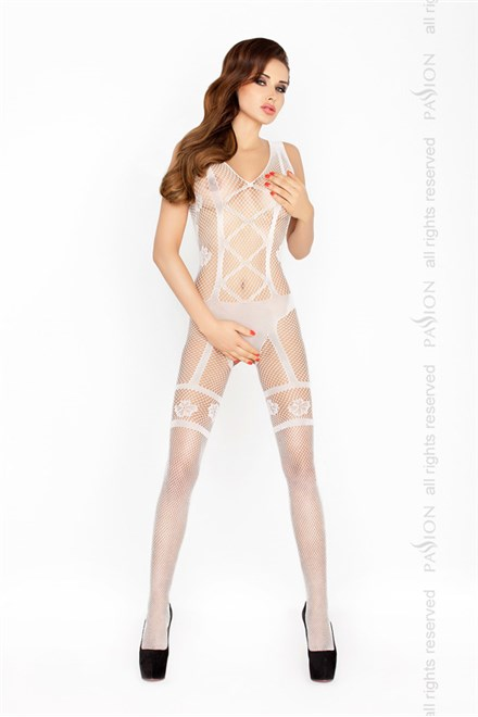 Bodystocking Passion BS018 bílá
