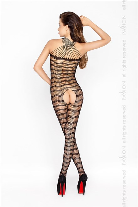 Bodystocking Passion BS022 bílá
