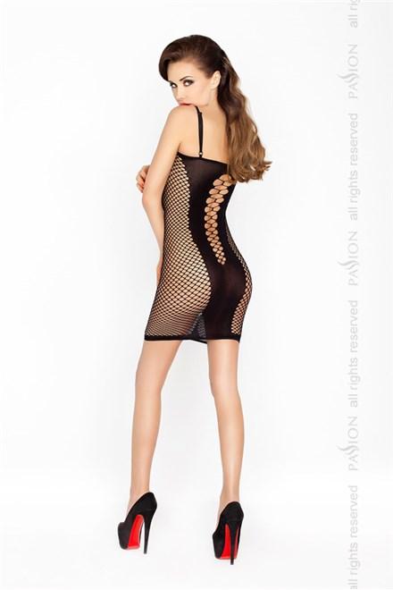 Erotické šaty Passion BS027 černá
