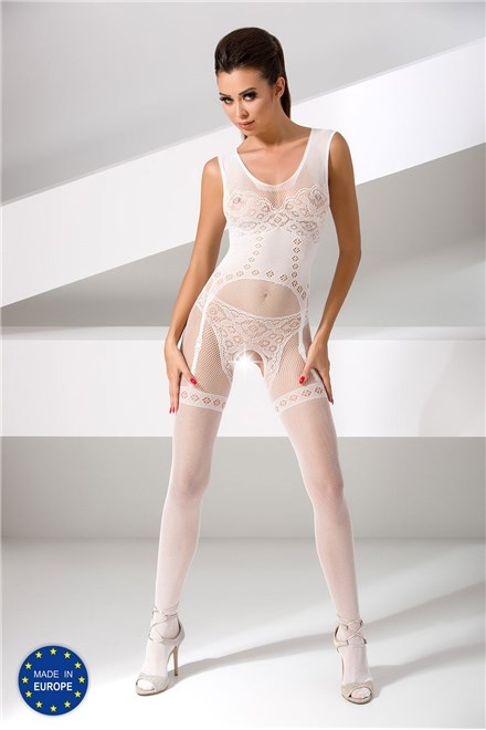Bodystocking Passion BS052 white