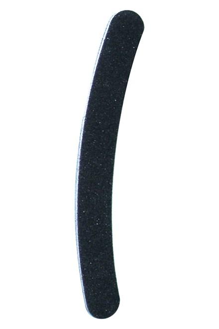Abella HJM-541 pilník smirkový, zahnutý, černý 18cm