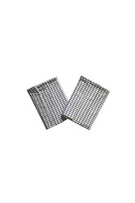 Utierka Extra savá Drobná kocka bielo / čierna - 3 ks