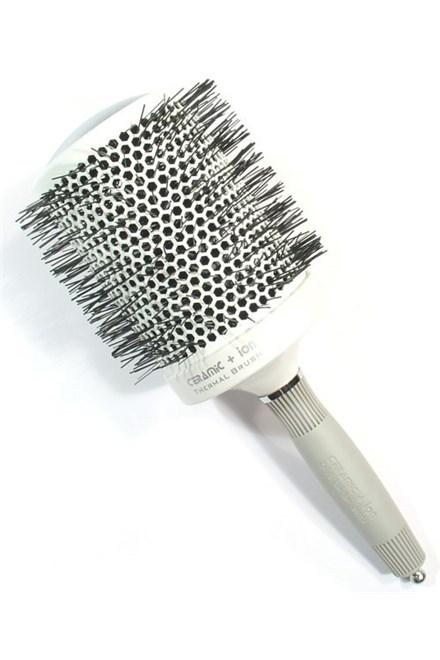 OLIVIA GARDEN Pro Mega C - Profesionálna keramická guľatá kefa na vlasy T 80