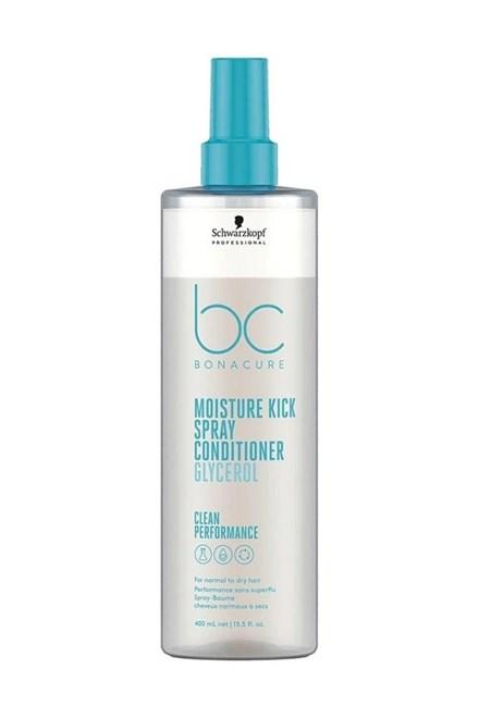 SCHWARZKOPF BC Moisture Kick Conditioner Spray 400ml - 2f. sprej pre suché a trvalené vlasy