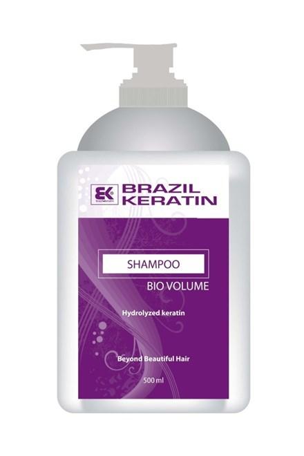 BRAZIL KERATIN Bio Shampoo Volume keratínový šampón pre väčší objem vlasov 500ml