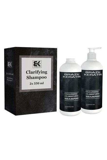 BRAZIL KERATIN Clarifying Shampoo čistiaci šampón pred aplikáciou brazílskeho keratínu 1l