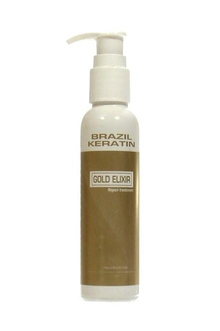 BRAZIL KERATIN Gold Elixir Repair Treatment - regeneračná keratínová starostlivosť 50ml