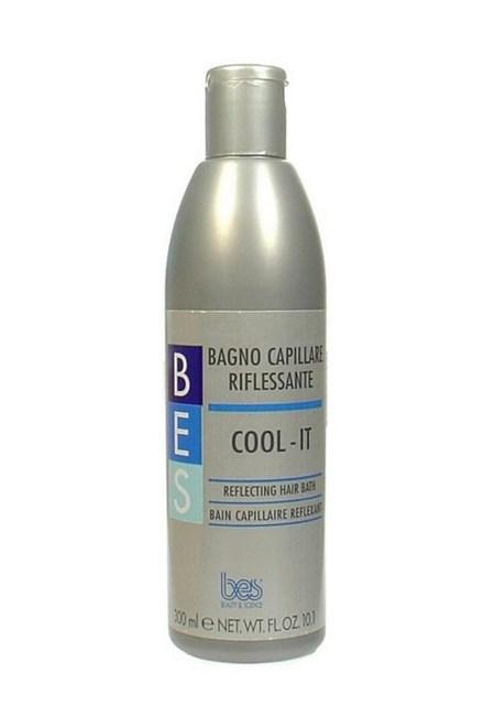 BES Starostlivosť o vlasy Cool-It Shampoo strieborný šampón na melírované a odfarbené vlasy 300ml