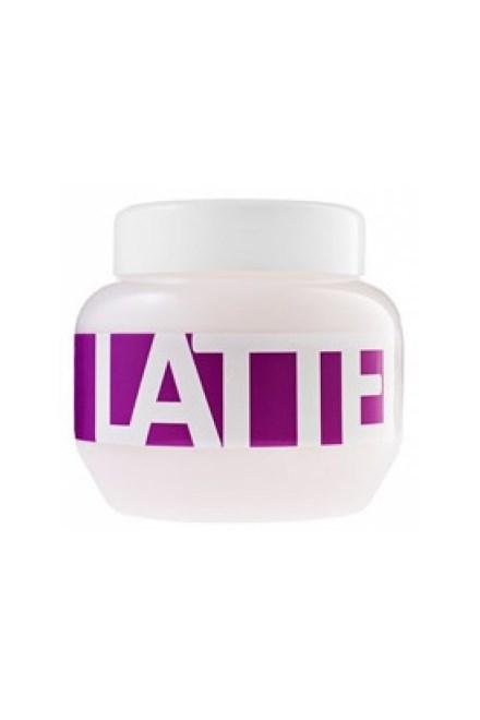 Kallos Cosmetics Latte Hair Mask 275ml - maska \u200b\u200bna vlasy poškodené a po trvalej ondulácii