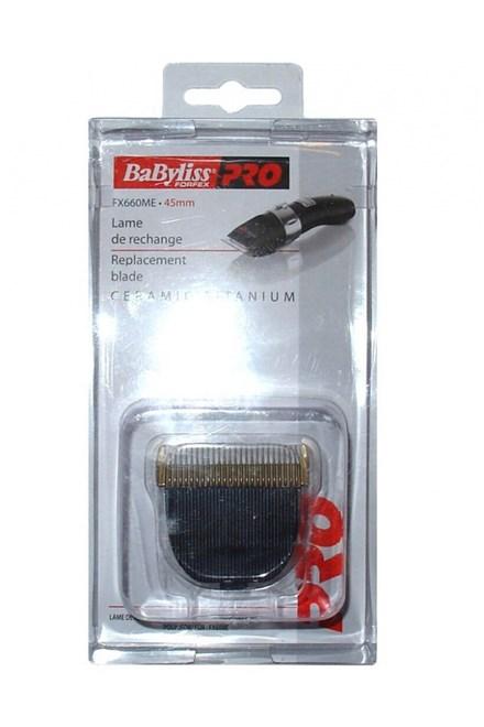 BABYLISS PRO FX660ME Ceramic Titanium 45mm - náhradné strihacie hlavice pre strojčeky FX660