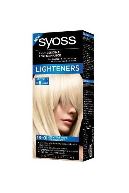 SYOSS Professional / Intenzívny zosvetľovač Ultra Lightener 13-0 - zosvetlí vlasy až o 8 odtieňov