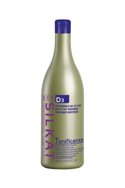 BES Silkat D3 Shampoo Tonificante - regeneračný šampón na vlasy 1000ml