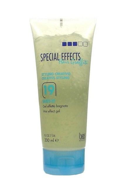 BES Special Effects Wet-It č.19 - Gél na vlasy v tube - mokrý efekt 200ml