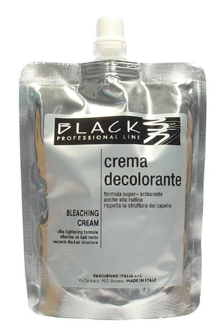 BLACK Melír Bleaching Cream Ultra Lightening odfarbovací a melírovací krém 250ml