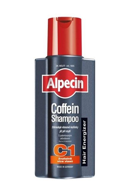 ALPECIN Hair Energizer Coffein Shampoo C1 250ml - šampón pre rast vlasov