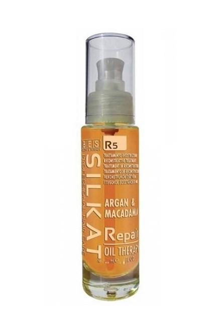 BES Silkat R5 Repair Oil Therapy 100ml - opravný olej na rozdvojené končeky