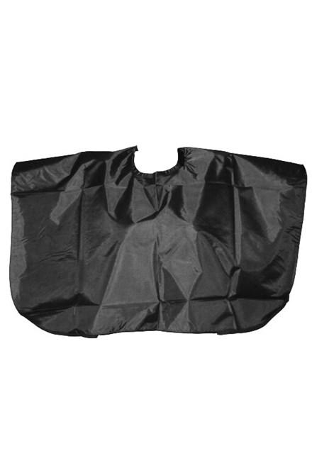 PONIK'S Kadernícka strihací pláštenka krátka - čierna