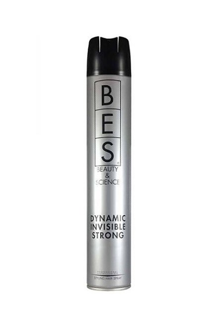 BES Hair Fashion Dynamic Invisible Strong 500ml - lak na vlasy pre väčší objem
