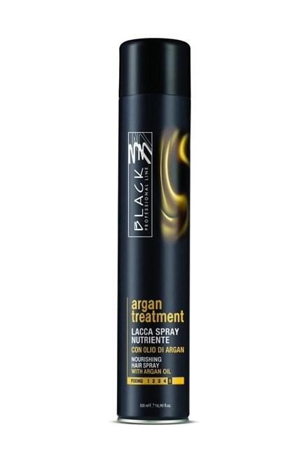 BLACK Professional Argan Treatment Spray 500ml - lak na vlasy s arganovým olejom