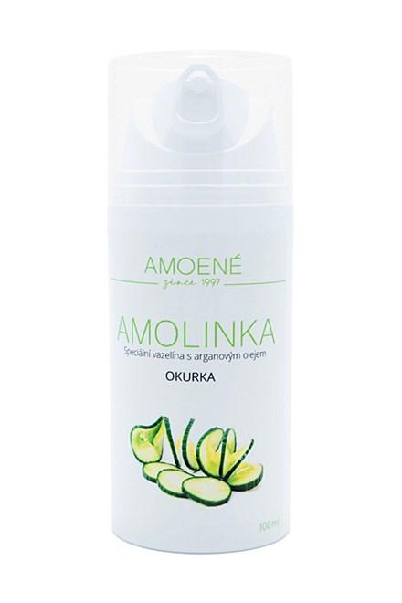 AMOLINKA Luxusné vazelína s arganovým olejom 100ml - vôňa uhorka
