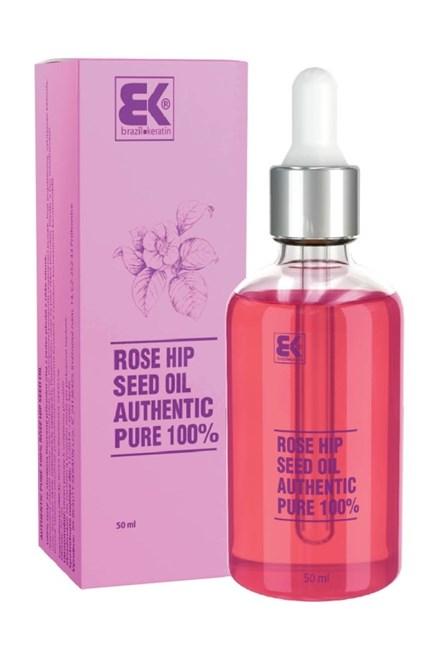 BRAZIL KERATIN Rose Seed Oil 50ml - 100% čistý prírodný olej z jadier plodov z ruže vínnej