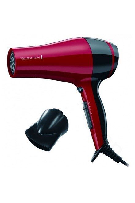 REMINGTON D 3080 Pro Dry Red 2000W - fén na vlasy s ionizátorem - červený