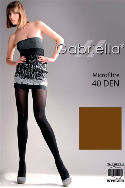 Pančuchové nohavice Gabriella Microfibre 40 Deň Code 121