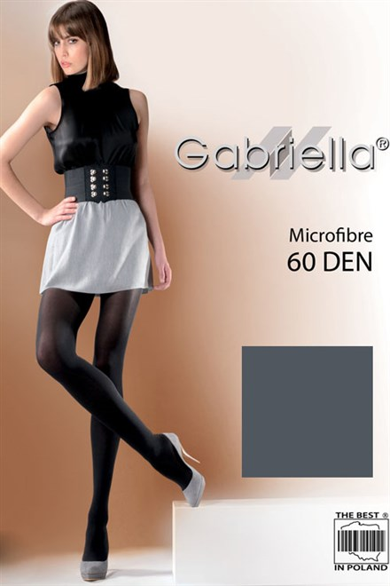 Pančuchové nohavice Gabriella Microfibre 60 Deň Code 122