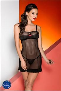 Košieľka Avanua Celia chemise - black