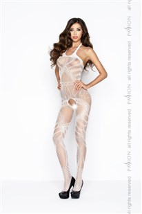 Bodystocking Passion BS037W bílá