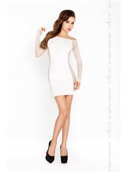 Erotické šaty Passion BS025 bílá