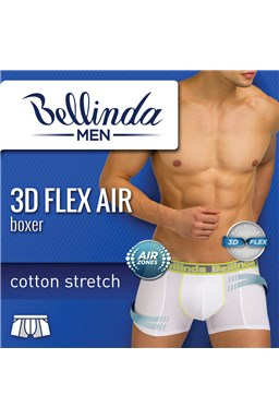 Boxerky Bellinda 3D Flex AIR BU858208
