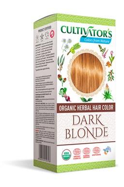 CULTIVATOR 100% přírodní Barva na vlasy 4 - Tmavá Blond