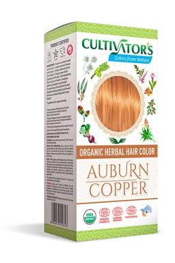 CULTIVATOR 100% přírodní Barva na vlasy 5 - Světle hnědá - měděná