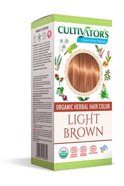 CULTIVATOR 100% přírodní Barva na vlasy 6 - Světle hnědá