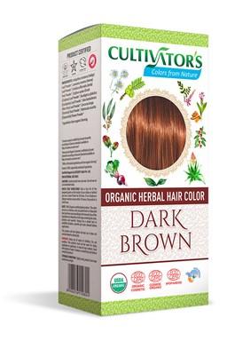 CULTIVATOR 100% přírodní Barva na vlasy 8 - Tmavě hnědá