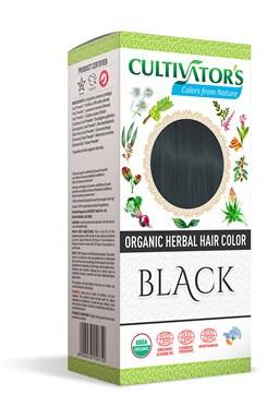 CULTIVATOR 100% přírodní Barva na vlasy 12 - Černá