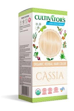 CULTIVATOR 100% přírodní Barva na vlasy 18 - Kasie - přírodní plavá