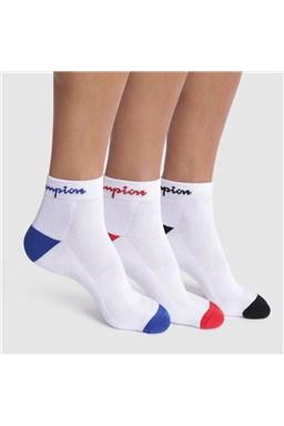 Kotníkové ponožky CHAMPION CREW ANKLE SOCKS 3 ks