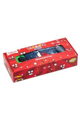 Ponožky Bellinda 4 ks, dárková sada Crazy Sock Box BE481044-006