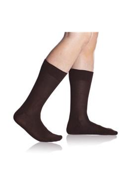 Ponožky Bellinda BE497520 Bambus, hnědá 650