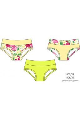 Dívčí kalhotky Cornette girls 805/29(806/29) - 3ks v balení kids, young