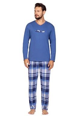Pánské pyžamo Regina 587 Niebeski