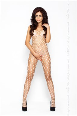 Bodystocking Passion BS001 bílá