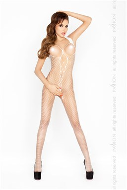 Bodystocking Passion BS014 bílá