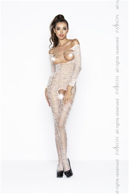 Bodystocking Passion BS031W bílá