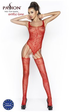 Bodystocking Passion BS034 Red