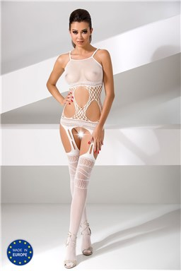 Bodystocking Passion BS047 white